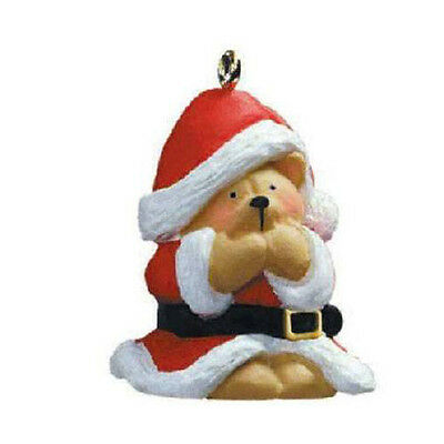 Hallmark Miniature Ornament 2004 Forever Friends #1 - Santa Wanna Be - #QXM5151