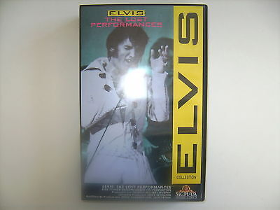Vhs Elvis The Lost Performances