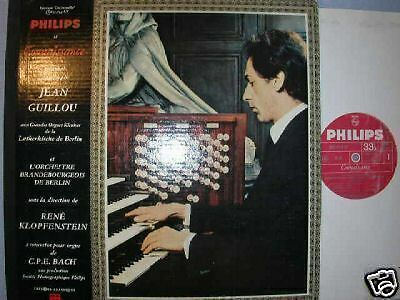 Philips Bach Concerto Pour Orgue Guillou Klopfenstein