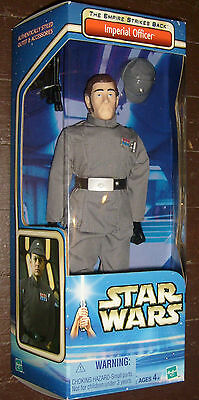 """Star Wars Imperial Officer 12"""" Deluxe High Grade Boxed Figure Misb S/H $4.99"""