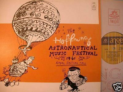 Angel The Hoffnung Astronautical Music Festival 1961