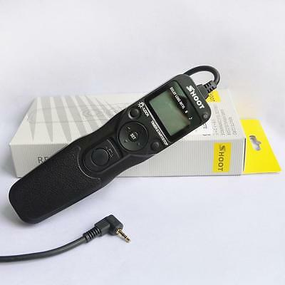 RS-60E3 Timer Remote Shutter Release for Canon 500D 550D 600D 1100D Rebel T2