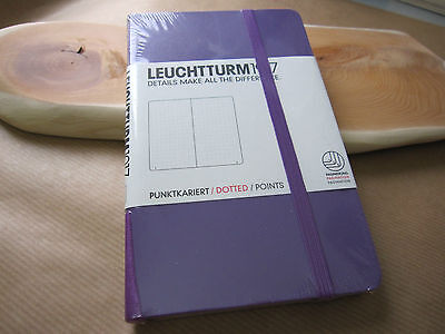 Leuchtturm1917 A6 Pocket Notebook Lilac Purple Dotted Functional Journal