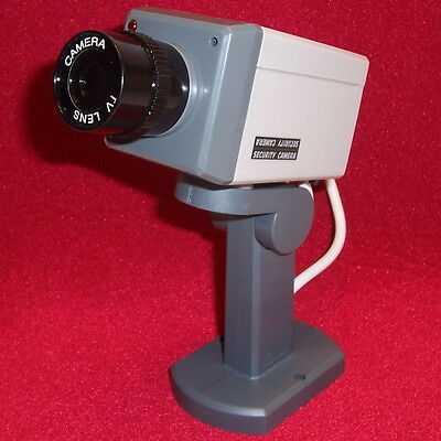 Fake SECURITY CAMERA Realistic Look Motion Activated