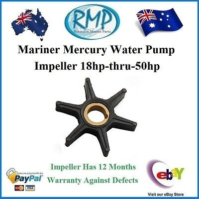 A Brand New Mariner Mercury Water Pump Impeller 18hp-thru-50hp # R 47-85089