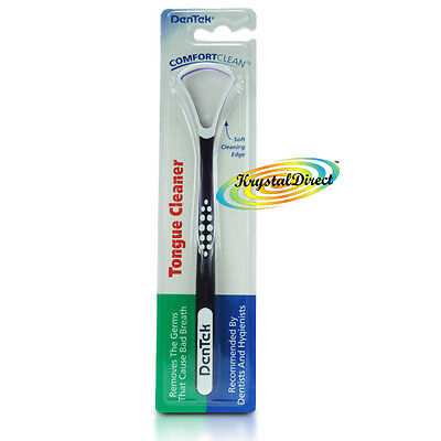 Dentek Tongue Cleaner Scraper Soft Cleaning Bad Breath