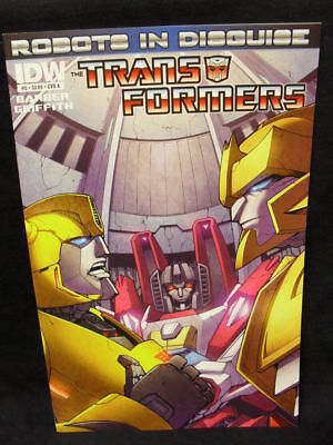 Transformers: Robots In Disguise #5 Cover A (Idw Comics)