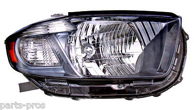New Replacement Black Headlight Assy RH / FOR 2008-2010 TOYOTA HIGHLANDER SPORT