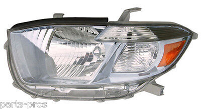 New Replacement Headlight Assembly LH / FOR 2008-2010 TOYOTA HIGHLANDER HYBRID