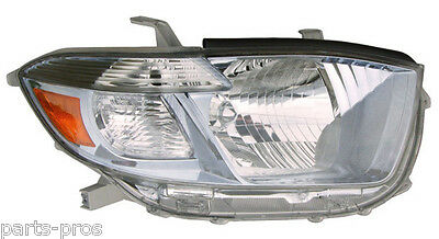 New Replacement Headlight Assembly RH / FOR 2008-2010 TOYOTA HIGHLANDER HYBRID