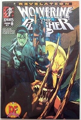 Wolverine Punisher Revelation #1 Df Dynamic Forces Alternate Variant Coa Marvel