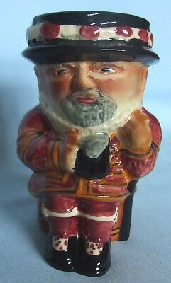 Shorter & Sons Staffordshire Toby Jug Beefeater