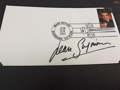 JEAN SIMMONS AUTOGRAPHED FIRST DAY COVER AU 328