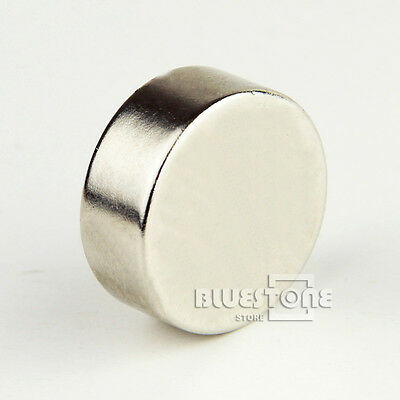 Pack of 1 LARGE and STRONG Neodymium Disk Cylinder Magnets 25mm x10mm N35 grade