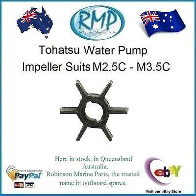 A Brand New Water Pump Impeller Tohatsu 2.5hp-3.5hp # 309-65021-0  # R 114812