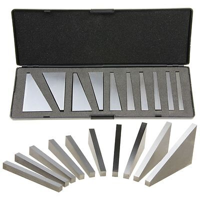 ANGLE BLOCK SET MACHINIST PRECISION GROUND 1-30 Degrees
