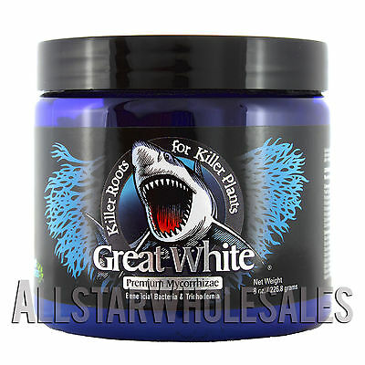 Plant Success Great White 8oz ounce Mycorrhizae Bacteria Roots Grow Hydroponics