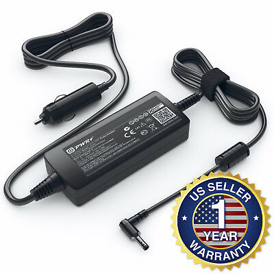 PWR+® Car Charger for HP / COMPAQ / TOSHIBA 19V 2.1A 40W DC Adapter Power Supply