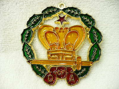 90A- O Of A Hanging Mason Ornament Mip (#5731)