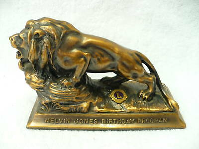 Ab- Melvin Jones Birthday Program Lion Officer Award