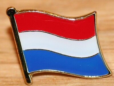 NETHERLANDS Holland Dutch Country Metal Flag Lapel Pin Badge