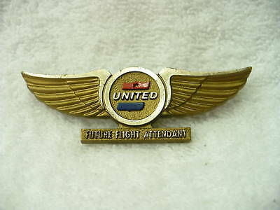 Ap- Vintage United  Plastic Airline Wings (Stoffel)