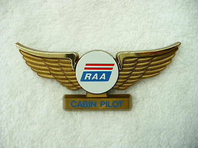 As- Vintage Raa Cabin Pilot Wings Pin Back Pin (Stoffel