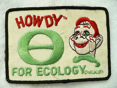 Az- Vintage  Howdy Patch For Ecology