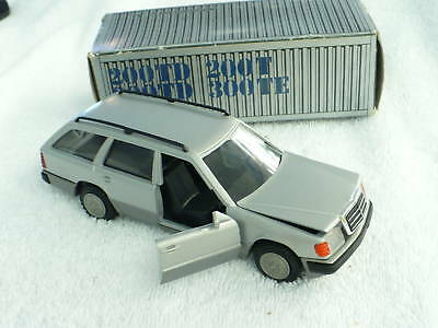 Br- Nzg Silver  Mercedes Benz Station Wagon Turbo Mib