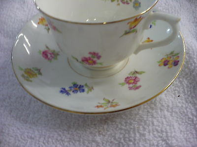 Eg-  Vintage  Colcolough China Cup & Saucer Bone China