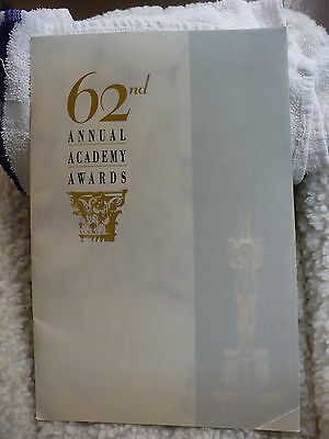 Jn - 62Nd Annual Academy Awards Program  #14667