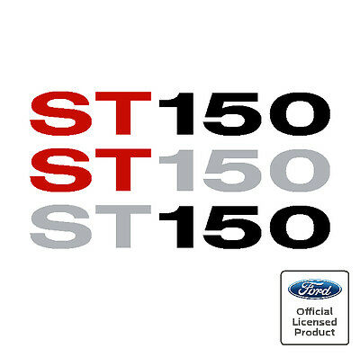 Ford Fiesta Mk6 ST150 Side Moulding Stickers Decals ST