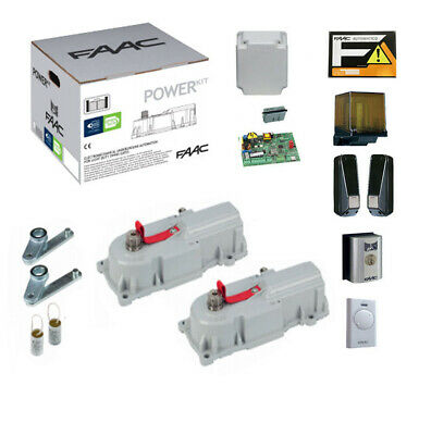 FAAC POWER 770 KIT GATE GATES AUTOMATION ELECTRIC SWING AUTOMATIC underground