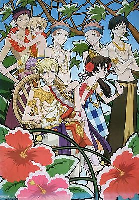 Ouran High School Host Club / Tsubasa Chronicle poster promo official big Clamp