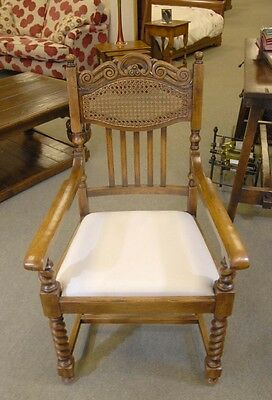 Set William Mary Rustic Dining Chairs Barley Twist English Farmhouse Furniture