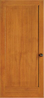 1 Panel Flat Mission Shaker Hemlock Stain Grade Solid Core Interior Wood Doors