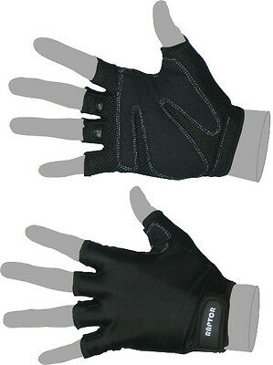 NEW Raptor Standard Padded Wheelchair/Crutch 3/4 Fingered Gloves. XS/S/M/L/XL