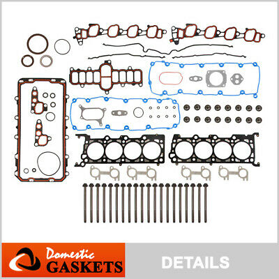 00-04 Ford F150 F250 F350 Expedition Excursion E150 5.4L Full Gasket Bolts Set