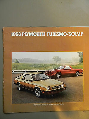 1983 Plymouth Turismo / Scamp Sales Brochure