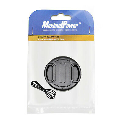 55mm Lens Cap Snap-on Cover for Canon Olympus Nikon