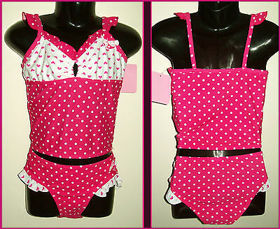 Pink 2 pc GIRLS - Sz 4 5 6 or 7 - TANKINI Gorgeous Swimwear / TOGS - NEW Bathers