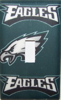 NFL Philadephia Eagles Football Team Light Switch Plates & Electrical Outlets
