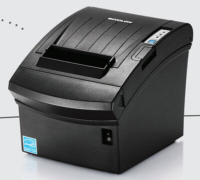 SRP-350PlUSiii USB & Serial + Ethernet Printer with Auto Cutter Dark Gray NEW