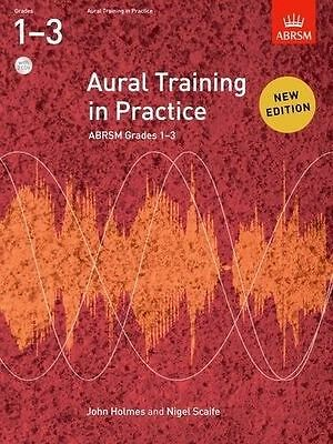 ABRSM Aural Training In Practice Grades 1-3 Music Book +2 CDs (2011 Edition) NEW