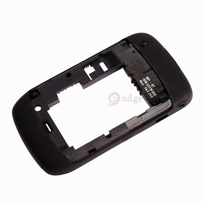 Replacement Flower Full Housing Cover Case for Blackberry Curve 8520 Black+Tools