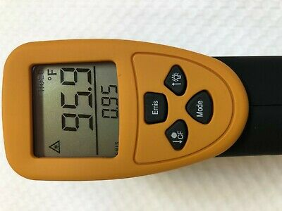 Digital Infrared Thermometer Accurate HVAC Electric Mechanic Repair Service Tool