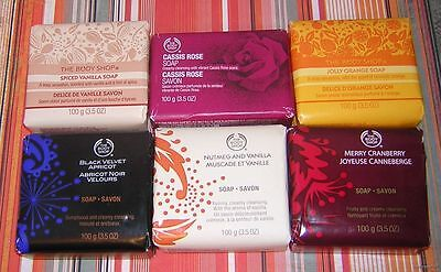 The Body Shop Wrapped Bar Soap - choose your scent