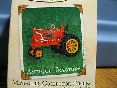 2002 Hallmark Miniature ANTIQUE TRACTOR #6 IN THE SERIES