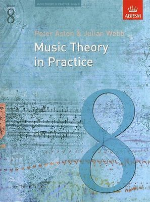 Music Theory In Practice: Grade 8 (ABRSM) Revised Sheet Music Book Learn NEW