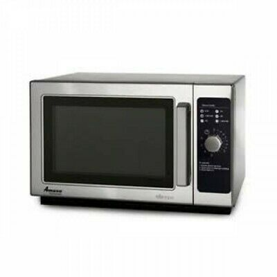 Amana Commercial Microwave Oven RCS10DS 1000 Watts